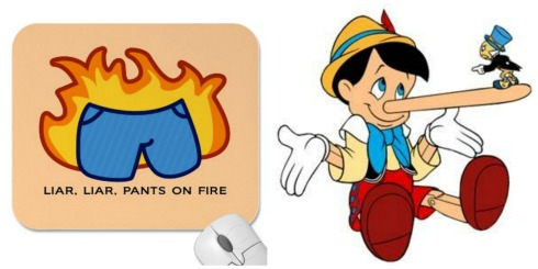 Pinocchio's Pants on Fire