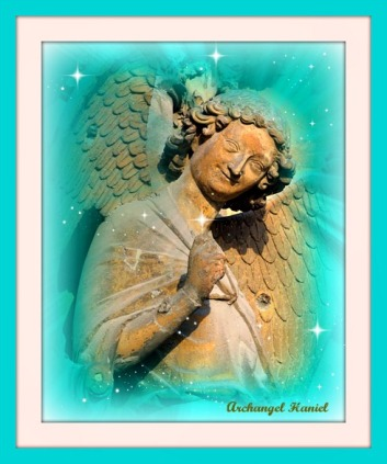 Archangel Haniel by Joy Star
