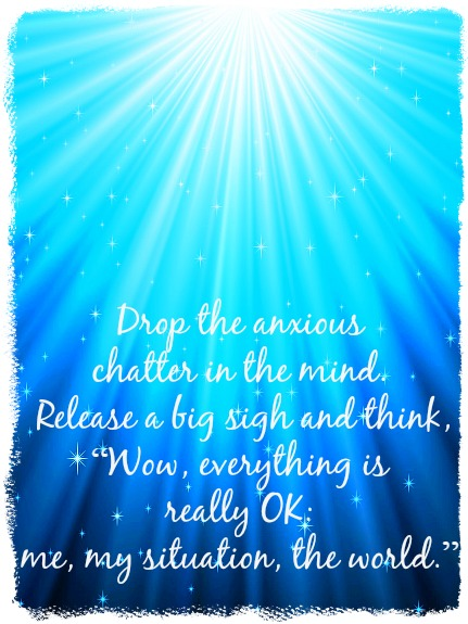 Everything is really OK message