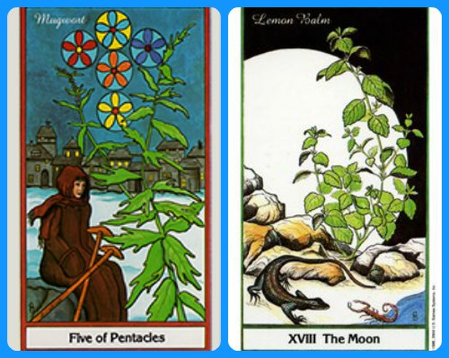 5 of Pentacles The Moon